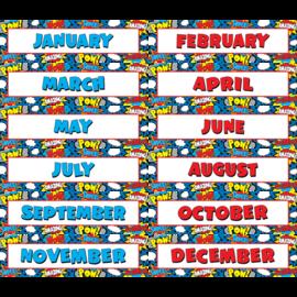 Superhero Monthly Headliners