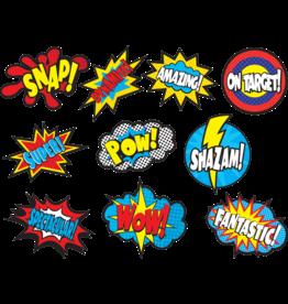 Superhero Sayings Accents