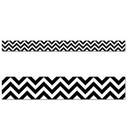 Black Chevron Border