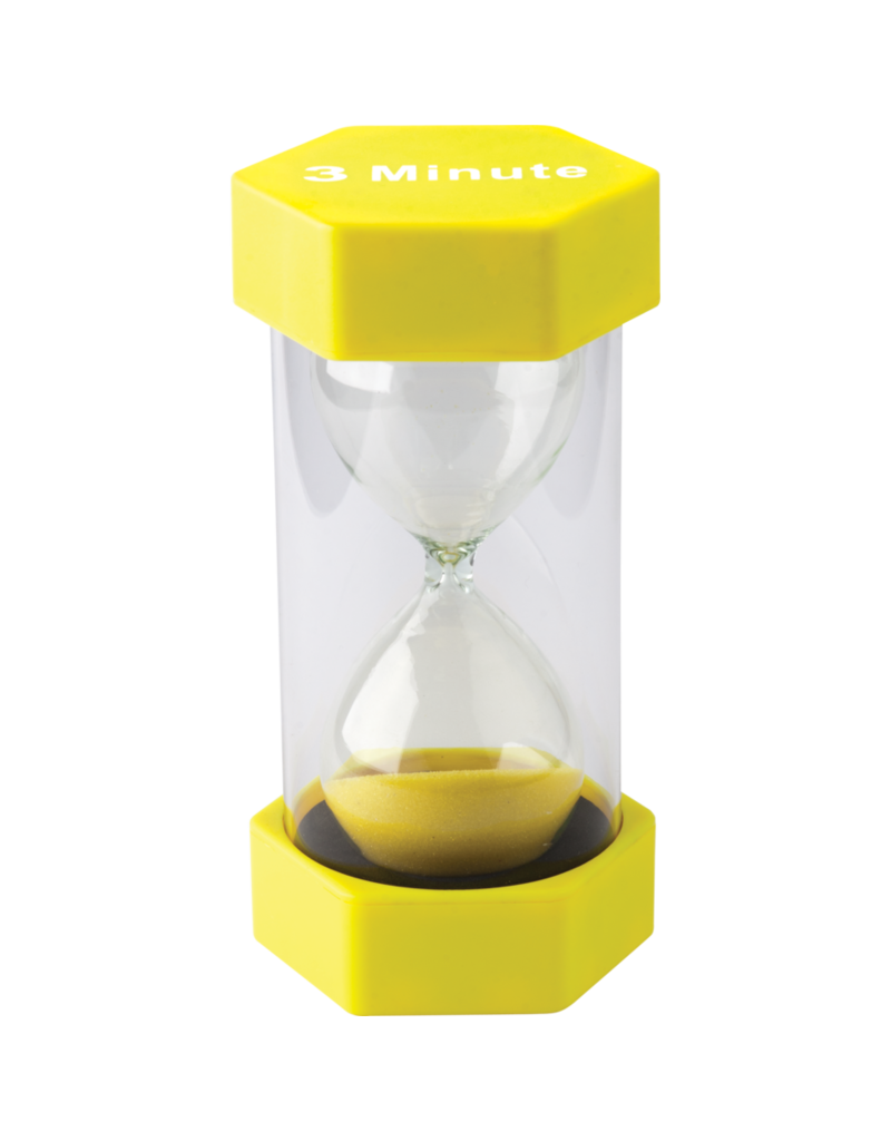 3 Minute Sand Timer Large