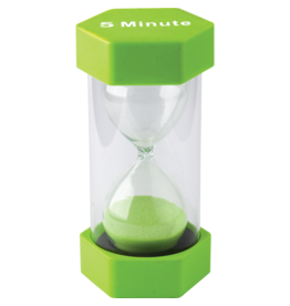 5 minute Sand TImer Large