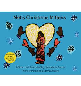 Metis Christmas Mittens