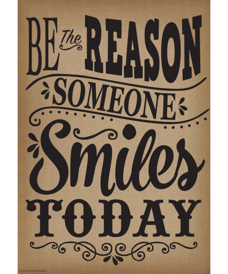 Be The Reason Someone Smiles Today-Poster