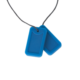 Dog Tags-Riptide Blue