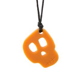 Skull Pendant- Orange