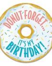 Donut Birthday Badges