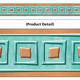 I Love Metal Copper Square Border
