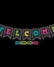 Pennants Welcome Bulletin Board