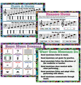 Music Poster Set (4th - 12th)