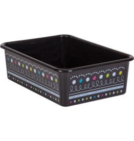 Chalkboard Brights Large Storage Bin