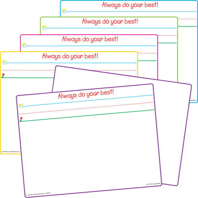 Magnetic Dry Erase Board (set of 5)