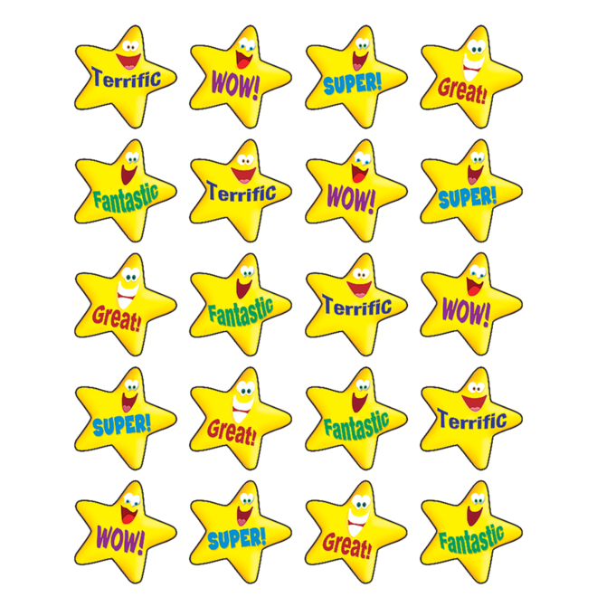 Encouraging Stars Stickers