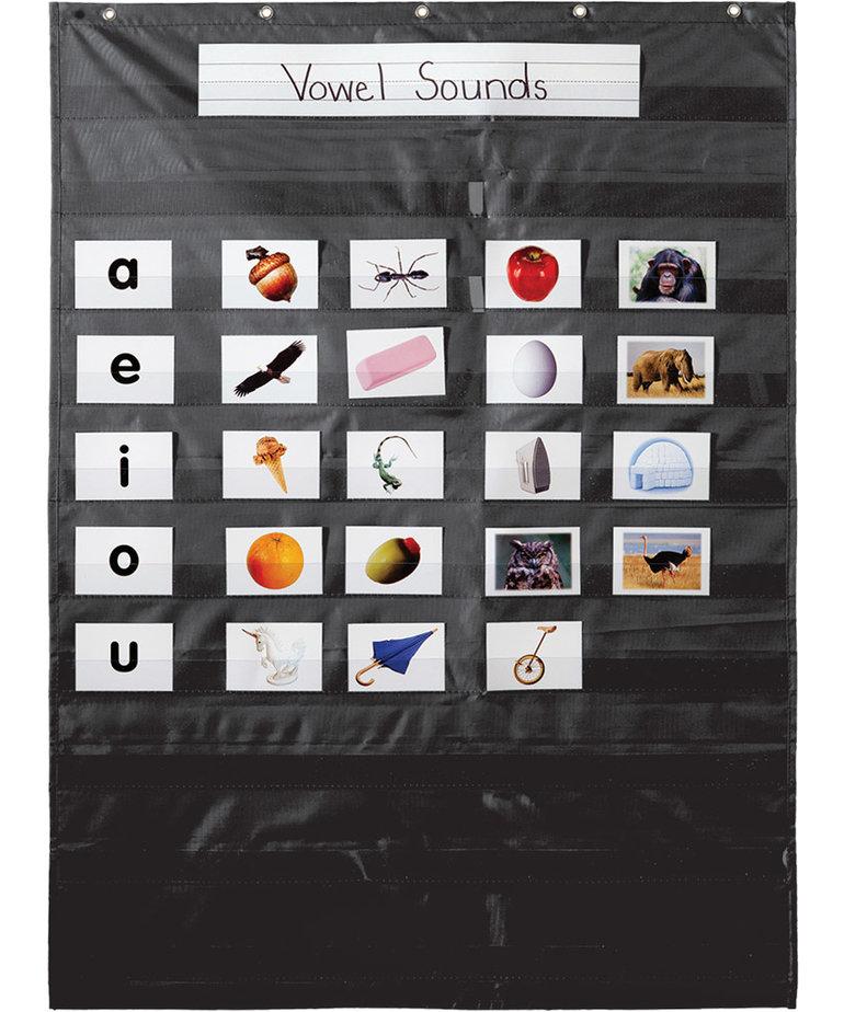 Essential Black Pocket Chart