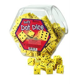 Learning Resources Soft Foam Dot Dice