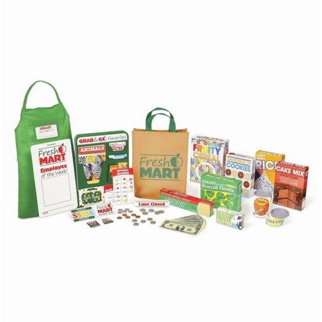 Melissa & Doug Fresh Mart Grocery Store Set