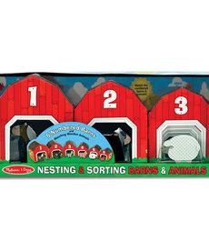 Melissa & Doug Nesting & Sorting-Barns & Animals