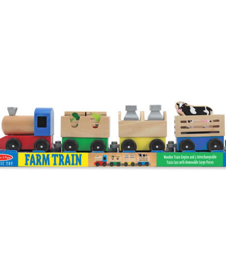 Melissa & Doug Farm Train
