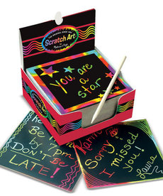 Melissa & Doug Rainbow Scratch Pad-Mini Notes