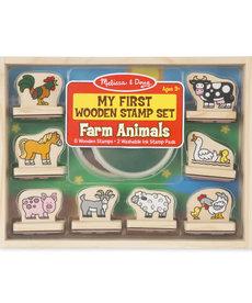 Melissa & Doug My First Stamp Set-Farm Animals