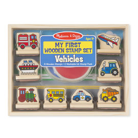 Melissa & Doug My First Stamp Set-Vehicles