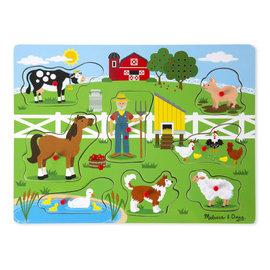 Melissa & Doug Old Macdonald's Farm Puzzle