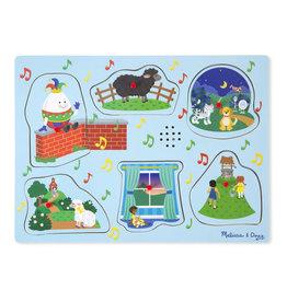 Melissa & Doug Nursery Rhymes 2-Sound Puzzle (Humpty)