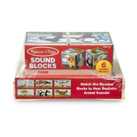 Melissa & Doug Farm Sound Blocks