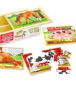 Melissa & Doug Farm Animals Puzzle in a Box