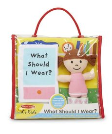 Melissa & Doug What Should I Wear (soft book)