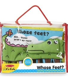 Melissa & Doug Whose Feet? (soft book)
