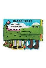 Melissa & Doug Whose Feet? (soft book)