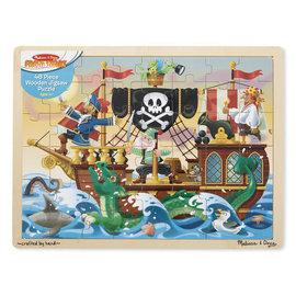 Melissa & Doug Pirate Adventure Jigsaw (48pc)