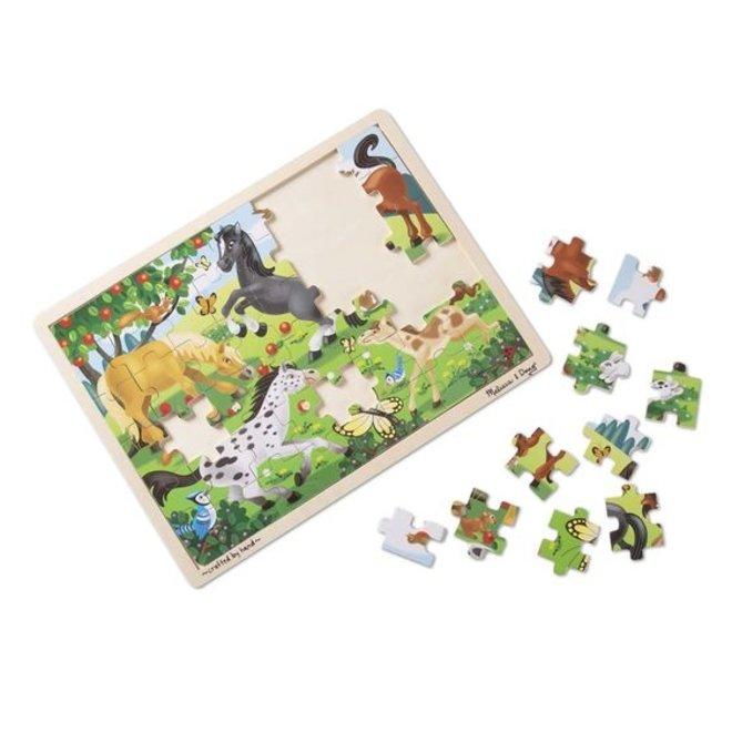 Melissa & Doug Horses Jigsaw (48pc)