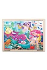 Melissa & Doug Mermaid Fantasea Puzzle (48 pc)