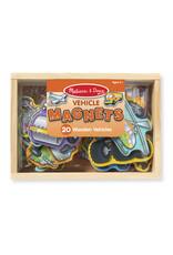 Melissa & Doug Vehicle Magnets (wooden)