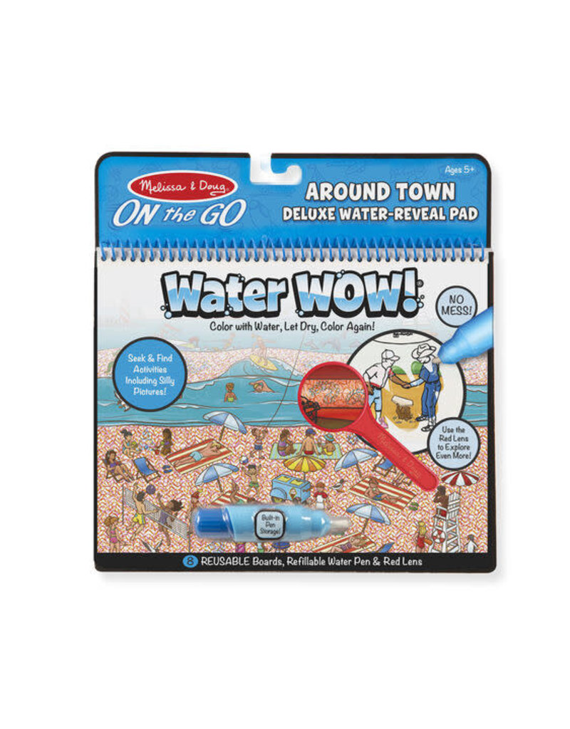 Melissa & Doug Water Wow Around Town Deluxe