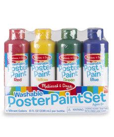 Melissa & Doug Poster Paint (set of 4)