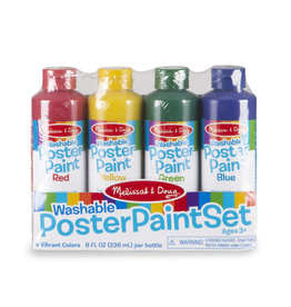 Melissa & Doug Poster Paint (set of 4)