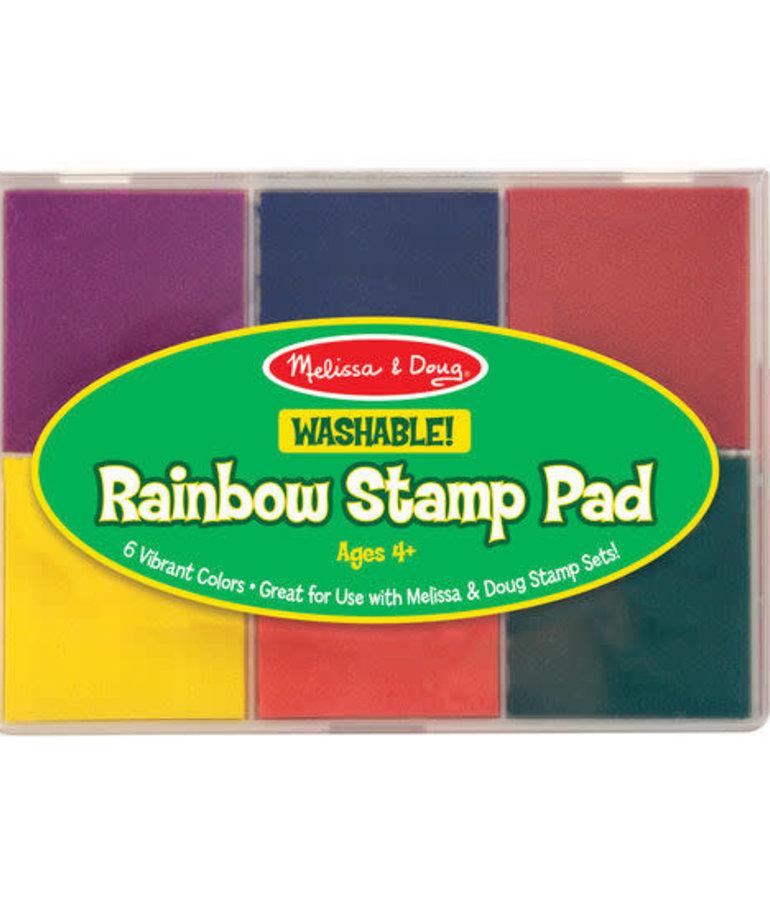 Melissa & Doug Jumbo Rainbow Stamp Pad