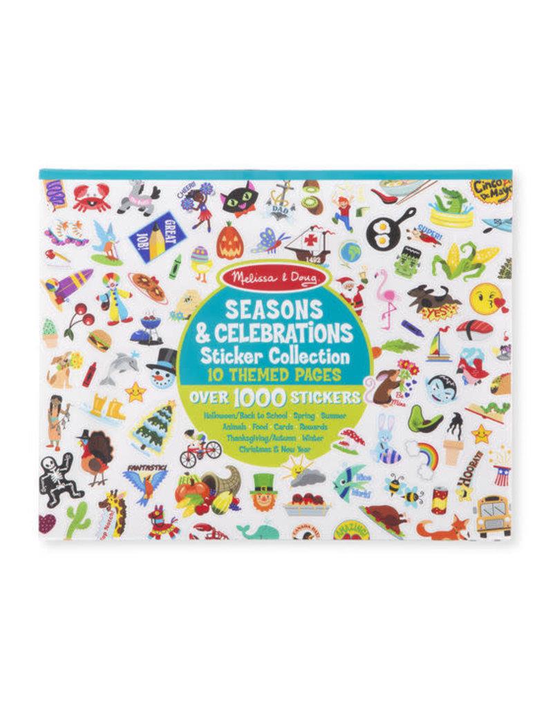 Melissa & Doug Sticker Collection-Seasons & Celebrations