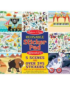 Melissa & Doug Reusable Sticker Pad-Adventure