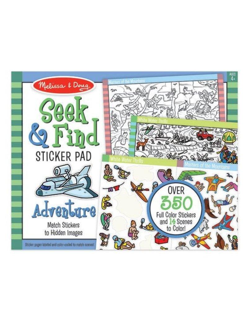 Melissa & Doug Seek & Find Sticker Pad-Adventure