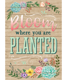 Bloom Where You Are Planted-Poster