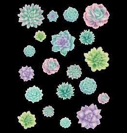 Rustic Bloom Succulent Accents