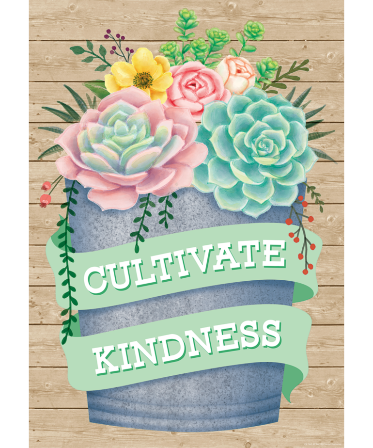 Cultivate Kindness Poster