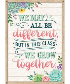 We May All Be Different Poster