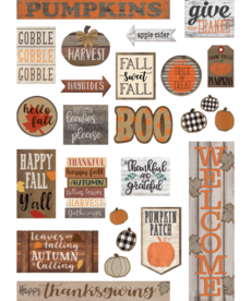 Home Sweet Classroom Fall Mini Bulletin Board Set