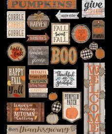 Home Sweet Classroom Fall Mini Bulletin Board Set