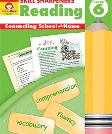 Evan-Moor Skill Sharpeners Reading-Gr.6