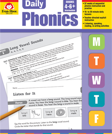 Evan-Moor Daily Phonics-Gr.4-6+